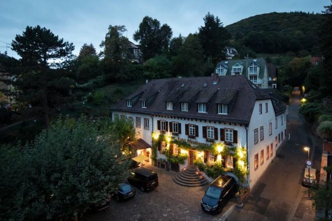 The sumptuous Die Hirschgasse hotel in Heidelberg